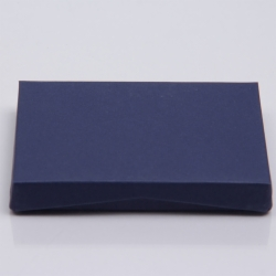 4-5/8 x 3-3/8 x 5/8 NAVY MATTE GIFT CARD BOX WITH POP-UP INSERT