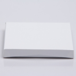 4-5/8 x 3-3/8 x 5/8 PEARL SHEEN ICE GIFT CARD BOX WITH POP-UP INSERT