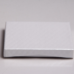 4-5/8 x 3-3/8 x 5/8 PEARL PILLOWS GIFT CARD BOX WITH POP-UP INSERT