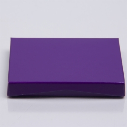 4-5/8 x 3-3/8 x 5/8 PURPLE ICE GIFT CARD BOX WITH POP-UP INSERT