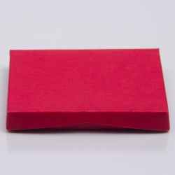 4-5/8 x 3-3/8 x 5/8 RED RIB GIFT CARD BOX WITH POP-UP INSERT