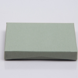 4-5/8 x 3-3/8 x 5/8 SAGE GREEN GIFT CARD BOX WITH POP-UP INSERT