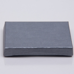 4-5/8 x 3-3/8 x 5/8 SLATE RIB GIFT CARD BOX WITH POP-UP INSERT