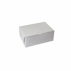 12 x 9 x 3 WHITE ONE-PIECE BAKERY BOXES - 3