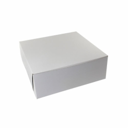 16 x 16 x 6 WHITE ONE-PIECE BAKERY BOXES