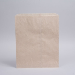 12 x 15 OATMEAL PAPER MERCHANDISE BAGS - ***CLOSEOUT***
