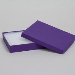 #85 JEWELRY BOXES-DEEP PURPLE