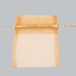 2 x 2.5 ORGANZA BAG-GOLD