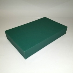 19X12X3 FOREST GREEN APPAREL BOX