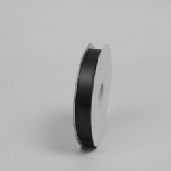 7/8X100YD SATIN RIBBON BLACK
