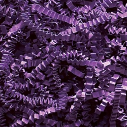 10 LB. PURPLE CRINKLE CUT PAPER SHRED