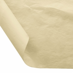 12 x 12 FOOD SAFE TISSUE BASKET LINERS 18# DRY WAX - CREAM