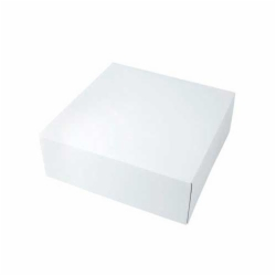 16 x 16 x 3 WHITE GLOSS TWO-PIECE GIFT BOXES