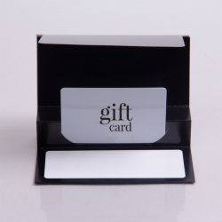5 x 3-3/8 BLACK ICE GIFT CARD FOLDERS