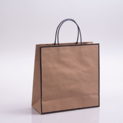 10 x 4 x 10 CHELSEA KRAFT PAPER SHOPPING BAGS