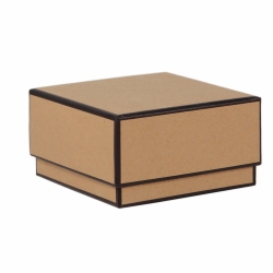 3.5X3.5X2 SOPHIE JEWELRY BOX CHELSEA KRAFT