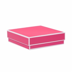 5 x 5 x 1.5 FUCHSIA JEWELRY BOX