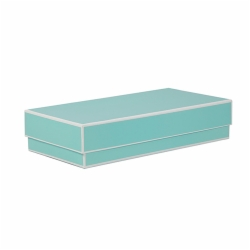 9 x 4.5 x 2 BAY BLUE JEWELRY BOX