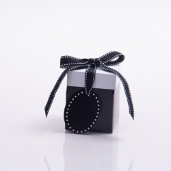 3 x 3 x 3.25 BLACK POP UP BOX