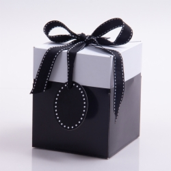 5 x 5 x 6 BLACK POP UP BOX