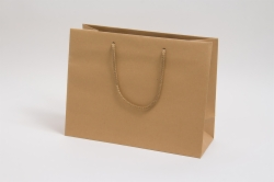 13 x 5 x 10 NATURAL KRAFT EUROTOTE SHOPPING BAGS