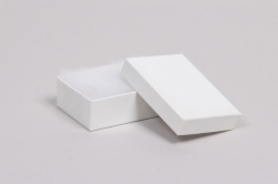 (#32) 3-1/16 x 2-1/8 x 1 WHITE GLOSS JEWELRY BOXES