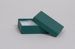 (#32) 3-1/16 x 2-1/8 x 1 MATTE TEAL JEWELRY BOXES