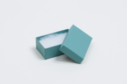 (#21) 2-1/2 x 1-1/2 x 7/8 MATTE JADE JEWELRY BOXES