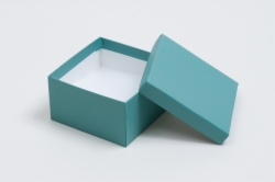 (#34) 3-1/2 x 3-1/2 x 2 MATTE JADE JEWELRY BOXES