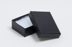 (#32) 3-1/16 x 2-1/8 x 1 BLACK SEMI-GLOSS JEWELRY BOXES