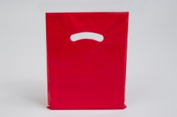 9 x 12 RED SUPER GLOSS PLASTIC BAGS