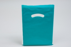 12 x 15 TEAL SUPER GLOSS PLASTIC BAGS