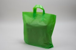 16 x 15 x 6 CITRUS FROSTED SOFT LOOP HANDLE PLASTIC BAGS