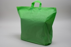 22 x 18 x 8 CITRUS FROSTED SOFT LOOP HANDLE PLASTIC BAGS