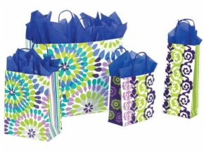 Design Prints Paper Shopping Bags