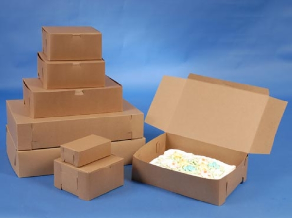 Bakery Boxes - Natural Kraft