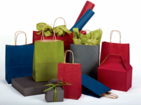 Paper Shopping Bags & Euro Totes