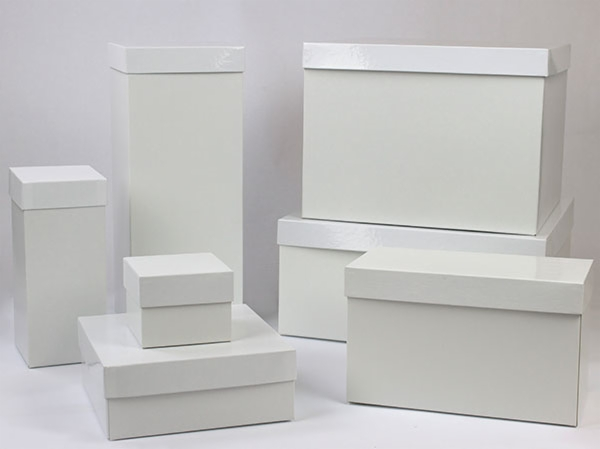 Gift Boxes - Hi-Wall - White