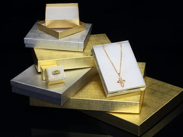 Jewelry Boxes - Textured Foils