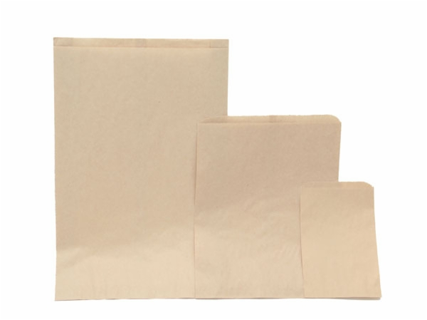 Paper Merchandise Bags - Oatmeal