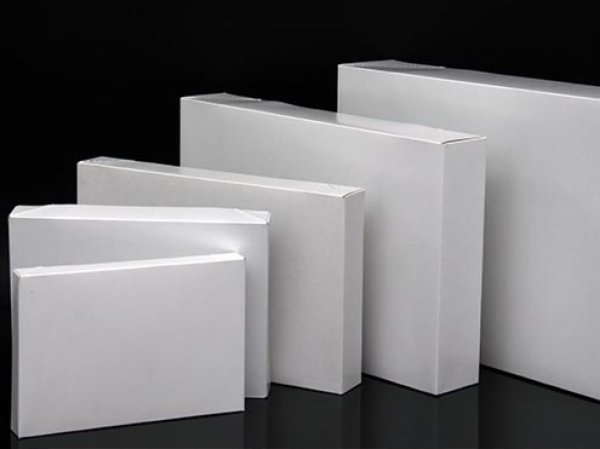 White Gloss Apparel Gift Boxes