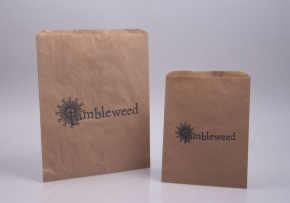 Paper Merchandise Bags, Flat Bags, Gusseted Paper Bags