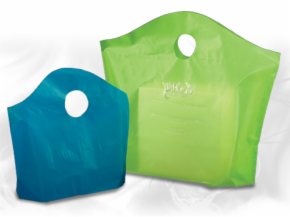 Frosted Wavetop Plastic Bags