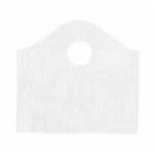 12 x 11 x 4 CLEAR FROSTED WAVETOP PLASTIC BAGS