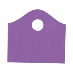 12 x 11 x 4 GRAPE FROSTED WAVETOP PLASTIC BAGS