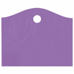 22 x 18 x 8 GRAPE FROSTED WAVETOP PLASTIC BAGS