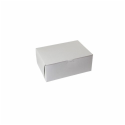 10 x 7 x 4 WHITE ONE-PIECE BAKERY BOXES