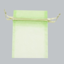3 x 4 MINT SHEER ORGANZA POUCHES