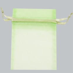 5 x 6.5 MINT SHEER ORGANZA POUCHES