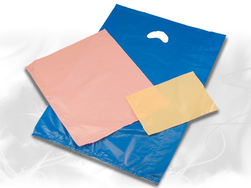 Colored Hi-Density Plastic Bags